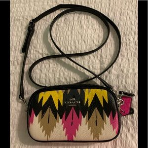 Small Coach Hawkfeather crossbody